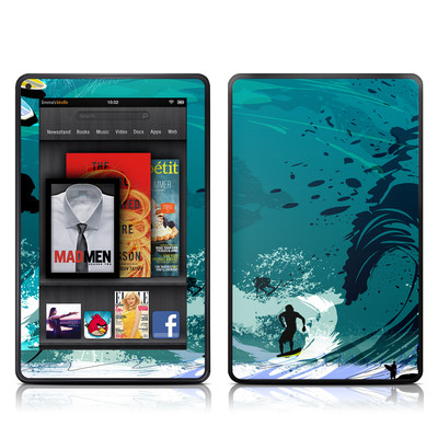 Kindle Fire Skin - Hit The Waves