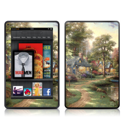 Kindle Fire Skin - Hometown Lake