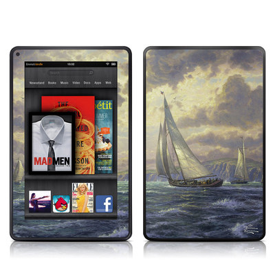 Kindle Fire Skin - New Horizons