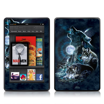 Kindle Fire Skin - Howling