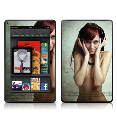 Kindle Fire Skin - Headphones