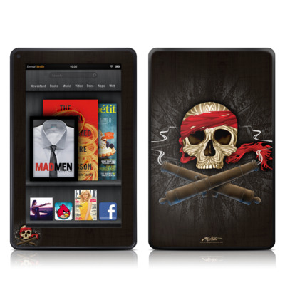 Kindle Fire Skin - High Seas Drifter