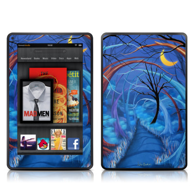 Kindle Fire Skin - Ichabods Forest
