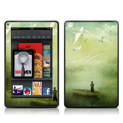 Kindle Fire Skin - If Wishes