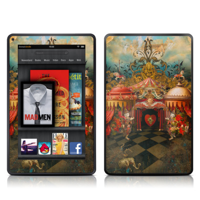 Kindle Fire Skin - Imaginarium