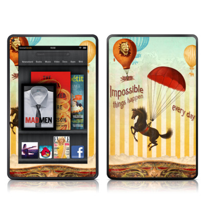 Kindle Fire Skin - Impossible