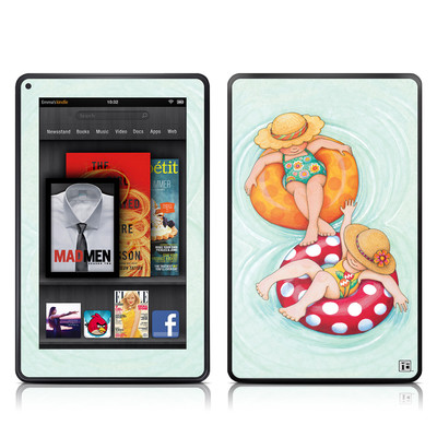 Kindle Fire Skin - Inner Tube Girls