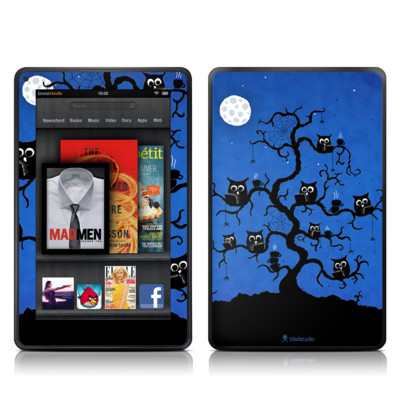 Kindle Fire Skin - Internet Cafe