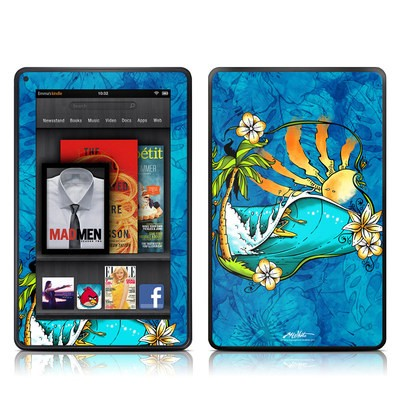 Kindle Fire Skin - Island Playground
