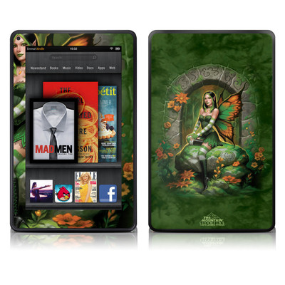 Kindle Fire Skin - Jade Fairy