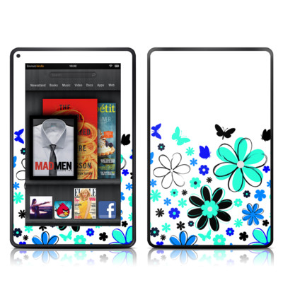 Kindle Fire Skin - Josies Garden