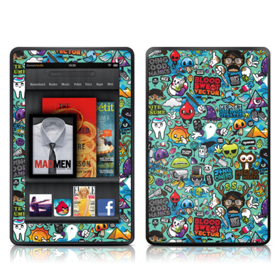 Kindle Fire Skin - Jewel Thief