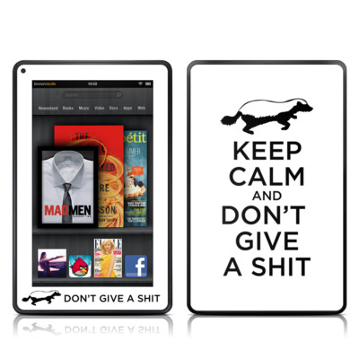 Kindle Fire Skin - Keep Calm - HB