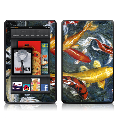 Kindle Fire Skin - Koi's Happiness