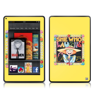 Kindle Fire Skin - She Who Laughs