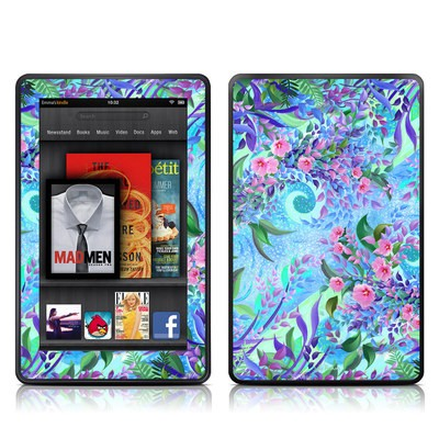 Kindle Fire Skin - Lavender Flowers