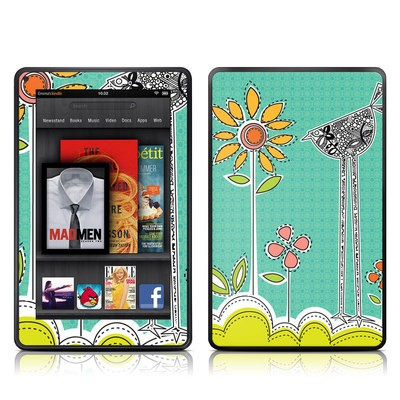 Kindle Fire Skin - Little Chicken