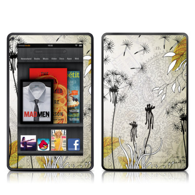 Kindle Fire Skin - Little Dandelion