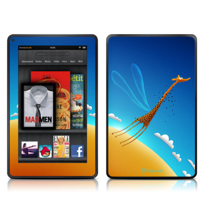Kindle Fire Skin - Learn to Fly