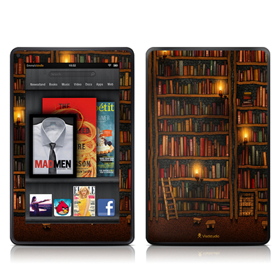 Kindle Fire Skin - Library