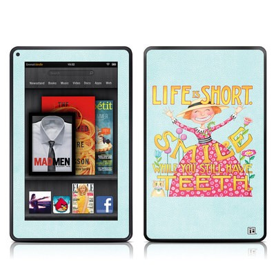 Kindle Fire Skin - Life is Short