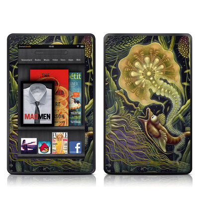 Kindle Fire Skin - Light Creatures
