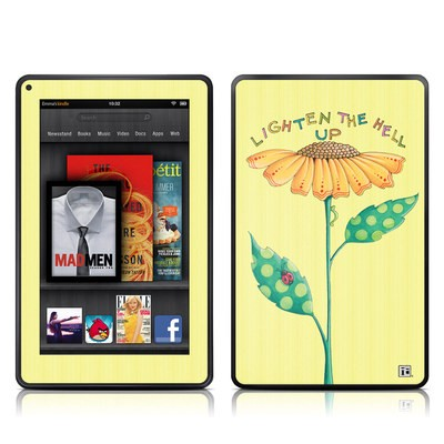 Kindle Fire Skin - Lighten Up