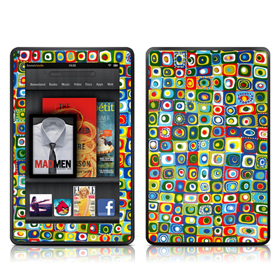 Kindle Fire Skin - Line Dancing