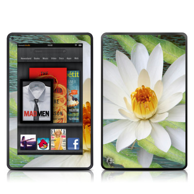 Kindle Fire Skin - Liquid Bloom