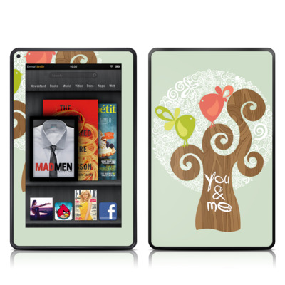 Kindle Fire Skin - Two Little Birds