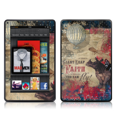 Kindle Fire Skin - Leap Of Faith