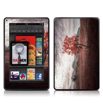 Kindle Fire Skin - Lofoten Tree