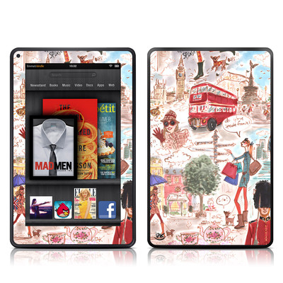 Kindle Fire Skin - London