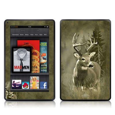 Kindle Fire Skin - Lone Buck