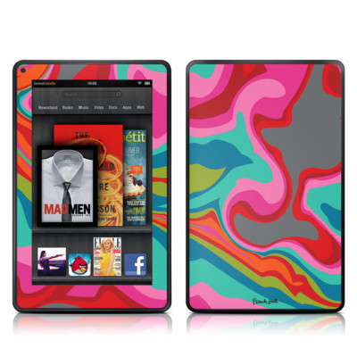 Kindle Fire Skin - Marble Bright