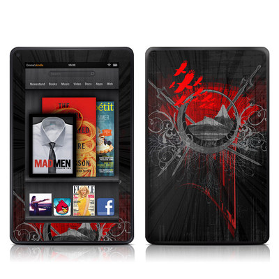 Kindle Fire Skin - Mount Doom