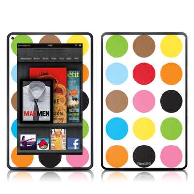Kindle Fire Skin - Multidot