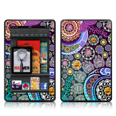 Kindle Fire Skin - Mehndi Garden