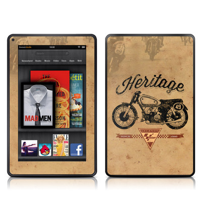 Kindle Fire Skin - MotoGP Heritage