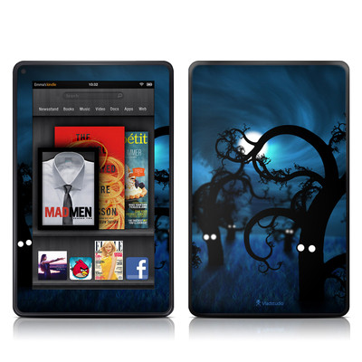 Kindle Fire Skin - Midnight Forest