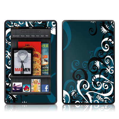 Kindle Fire Skin - Midnight Garden