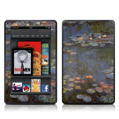 Kindle Fire Skin - Monet - Water lilies