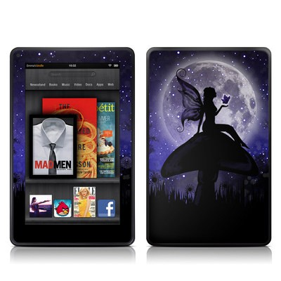 Kindle Fire Skin - Moonlit Fairy