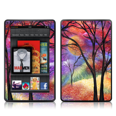 Kindle Fire Skin - Moon Meadow