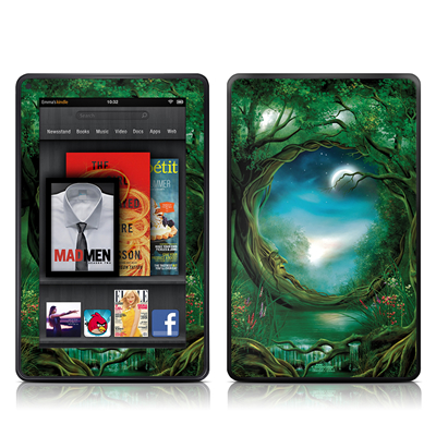 Kindle Fire Skin - Moon Tree