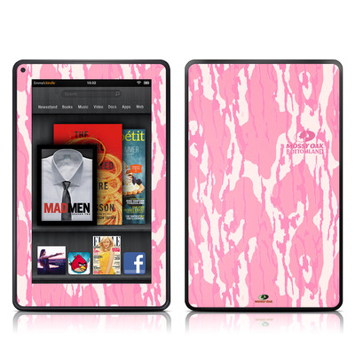 Kindle Fire Skin - New Bottomland Pink