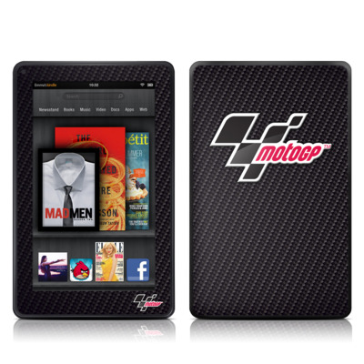 Kindle Fire Skin - MotoGP Carbon Logo