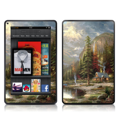 Kindle Fire Skin - Mountain Majesty