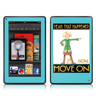 Kindle Fire Skin - Move On