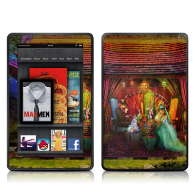 Kindle Fire Skin - A Mad Tea Party